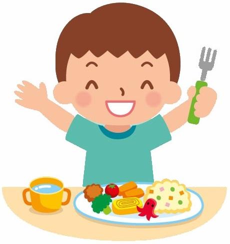 La joie de manger à la cantine